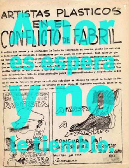 Roberto Jacoby, '1968, por el culo te la entocho'