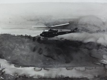 """Radenko Milak, '10. August 1961- First use in the Vietnam War of Agent Orange, by the U.S. Army. From the series """"365""""', 2013"""