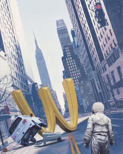 Scott Listfield, 'M In the Street', 2020