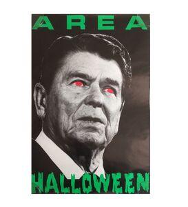 "Jean-Michel Basquiat, '""AREA-Halloween"", Party Poster, ca.1980's, AREA Nightclub NYC.', ca.1980's"