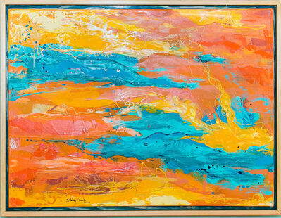Whitney Pintello, 'Sistine- Abstract Expressionist Contemporary Landscape Painting', 2020