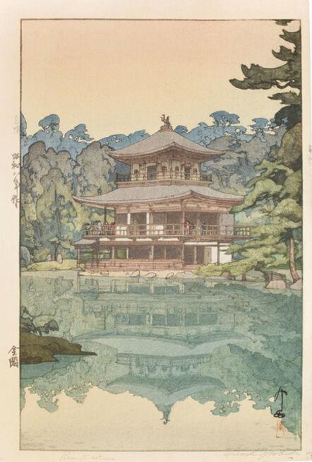 Yoshida Hiroshi, 'Kinkaku (Golden Pavilion)', 1933