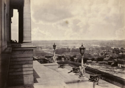 George N. Barnard, 'Nashville from the Capitol', 1865