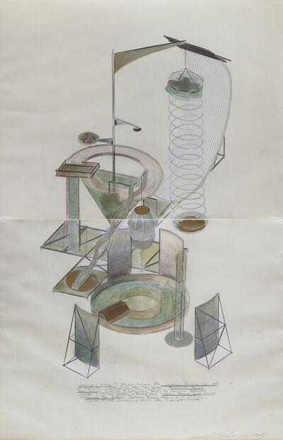 Dennis Oppenheim, 'Launching Station #1', 1961