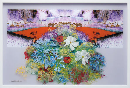 Gail Norfleet, 'Astiria, Cosmos, and Poppies', 2017
