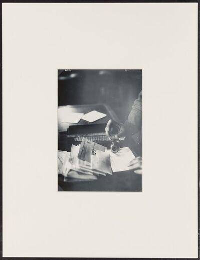 Piet Zwart, 'Untitled (Mail Clerk)'