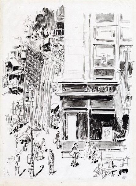 Childe Hassam, 'Lafayette Street.', 1918
