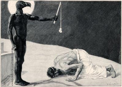 Sascha Schneider, 'Der Mammon Und Sein Sklave', 1894-1895