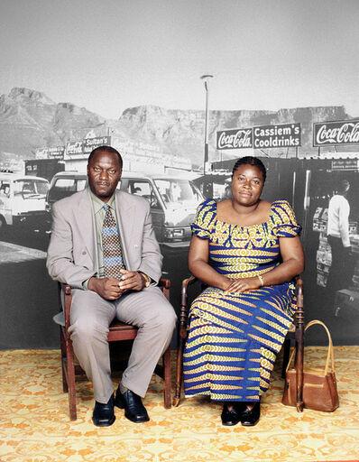 Sue Williamson, 'Better Lives: Albert & Isabelle Ngandu', 2003