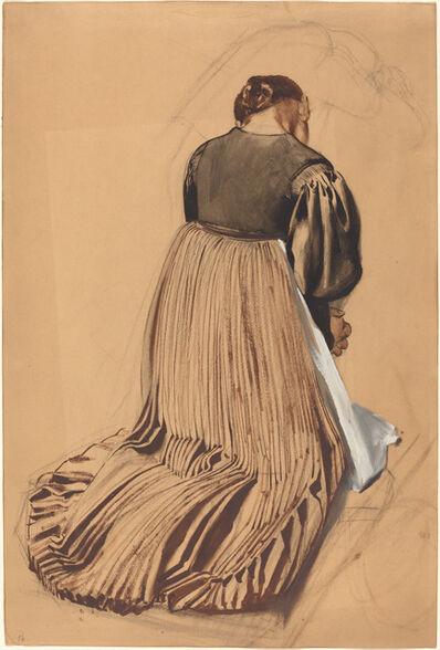 Konrad Böse, 'Kneeling Woman from Behind', ca. 1909