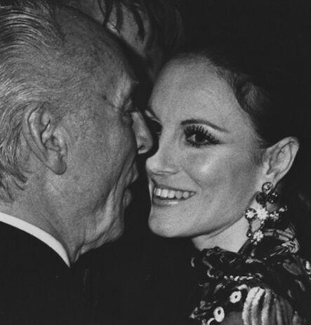 Ron Galella, 'George Balanchine and Patricia McBride, New York', 1974