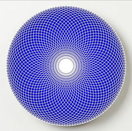 John Zoller, 'John Zoller, White Light Blue Harmony', 2020