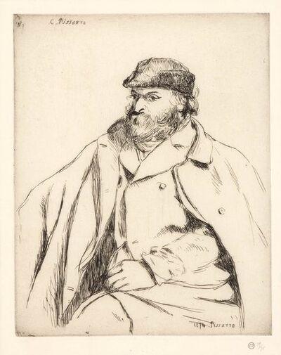Camille Pissarro, 'Portrait De Paul Cézanne (Delteil 13)', 1874