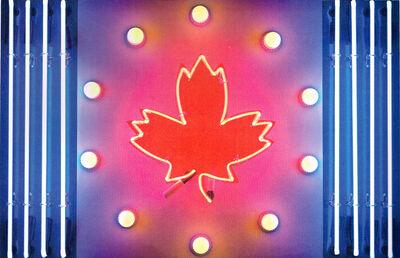 Ted Godwin, 'Canadian Flag', 1965