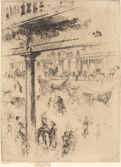 James Abbott McNeill Whistler, 'Regent's Quadrant', 1880/1881