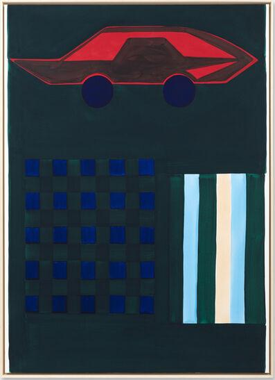 André Ricardo, 'Red car', 2019