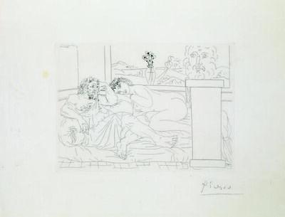 Pablo Picasso, 'Le Repos Du Sculpteur Iv. 1933'