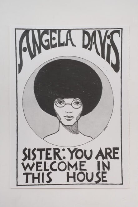 Andrea Bowers, 'Angela Davis-You Are Welcome in This House (In Honor of Julian Madyun)', 2011