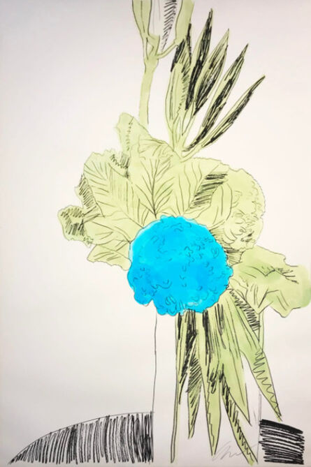 Andy Warhol, 'Flowers (Hand-Colored) II.110 (238/250)', 1974