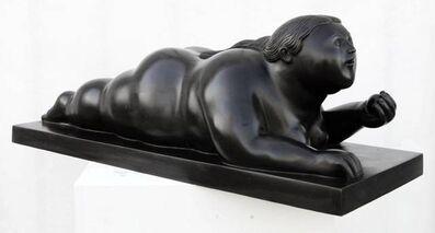 Fernando Botero, 'Donna con mela', 2008