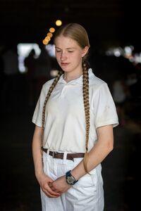 Mark Cáceres, 'Girl with Braided Hair, Cummington Fair', 2018
