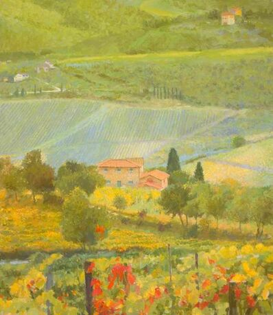 Nicholas Verrall, 'Late Summer in the Tuscan Hills', 2020
