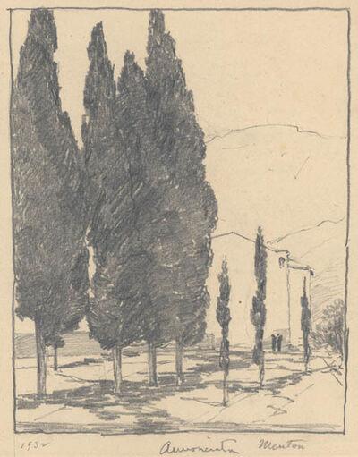 Chauncey Ryder, 'L'Annunciata [Menton, French Riviera]', 1932