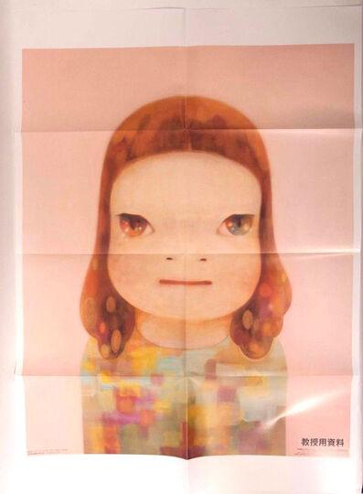 Yoshitomo Nara, 'Spring Girl poster (very rare, was not available to public)', 2012