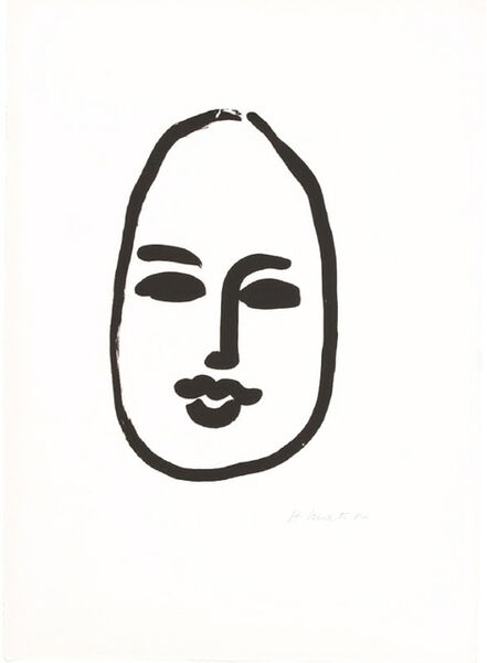 Henri Matisse, 'Masque d'apres D.A. II', 1948
