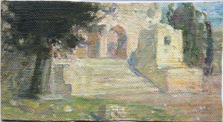 Vassily Dmitrievich Polenov, 'Solomon Temple. Sketch', ca. 1881