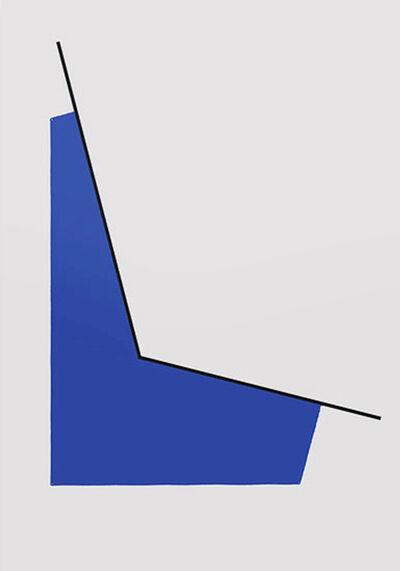 Leon Polk Smith, 'Space with Blue', 1990