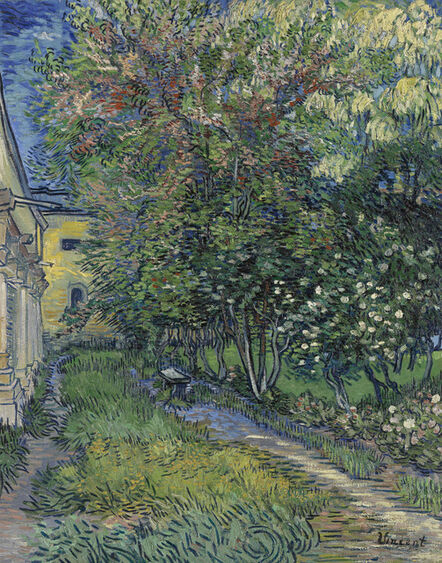 Vincent van Gogh, 'The Garden of Saint-Paul Hospital', 1889