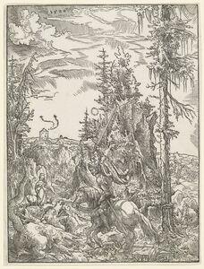 Wolf Huber, 'Saint George Killing the Dragon', 1520