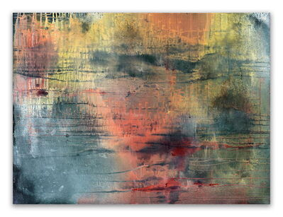 Yari Ostovany, 'Fragments Of Poetry And Silence No. 39 (Abstract painting)', 2015