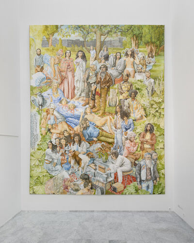 Jan Van De Pavert, 'Freedom, Represented by Contemporary Youth and Historic Figures', 2014