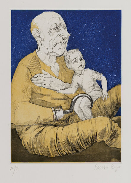 Paula Rego, 'Captain Hook and the Lost Boy', 1992