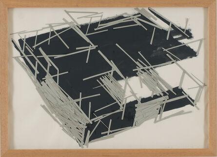Tadashi Kawamata, 'Site plan 8', 1991
