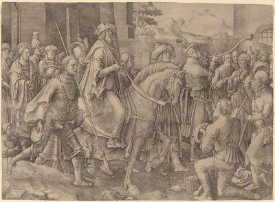 Lucas van Leyden, 'The Triumph of Mordecai', 1515