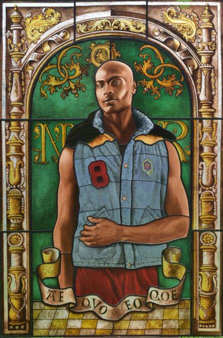 Kehinde Wiley, 'Arms of Nicolas Ruterius, Bishop of Arras', 2014