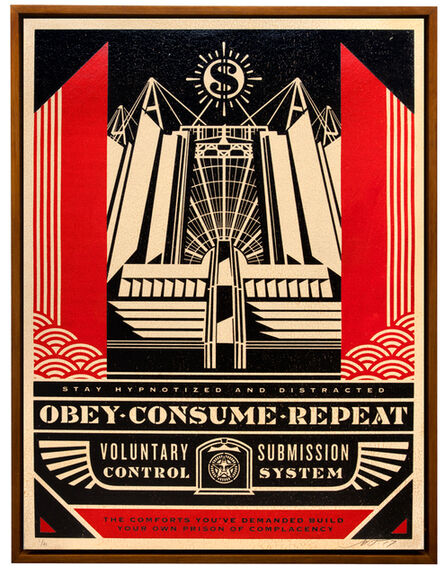 Shepard Fairey, 'Church of Consumption', 2017
