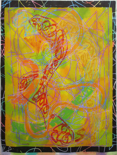 Frank Stella, 'Estoril Five I (from Circuits)', 1982