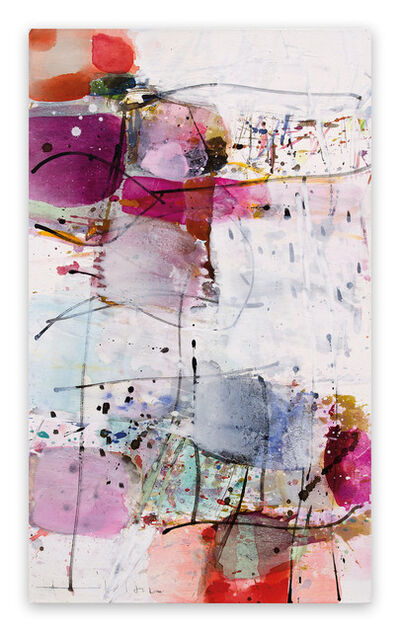 Greet Helsen, 'Blütenstaub (Abstract Expressionism painting)', 2019