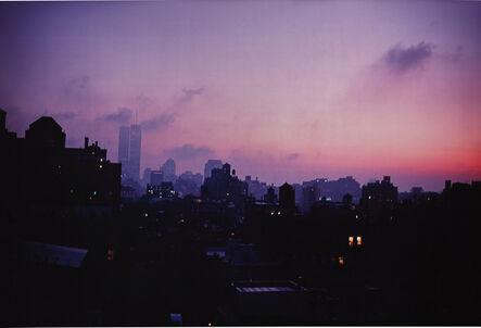 Nan Goldin, 'Skyline from my window, NY', 1999