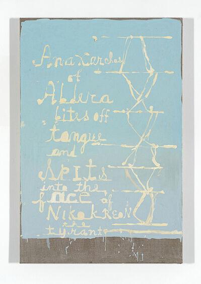 Peter Gallo, 'Anaxarchos of Abdera bites off Tongue', 2014