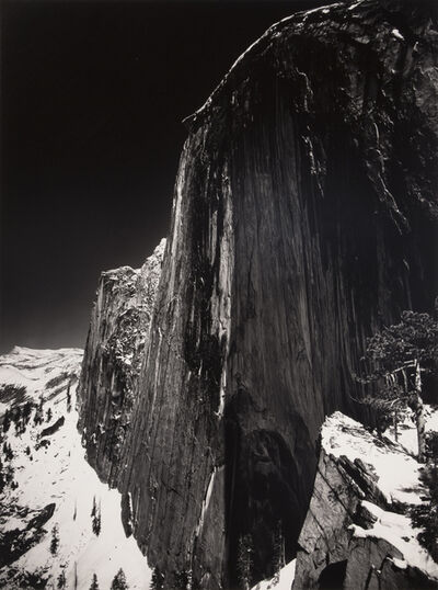 Ansel Adams, 'Monolith, the Face of Half Dome, Yosemite National Park, California', 1927