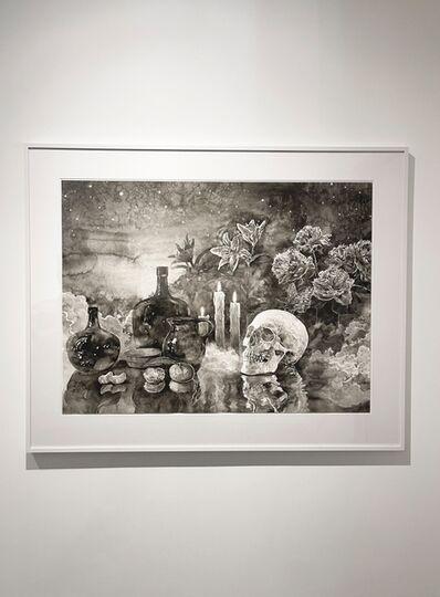 Hans Op de Beeck, 'Vanitas (flowers and tangerines)', 2021