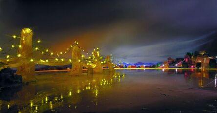 Liz Hickok, 'Bay Bridge,San Francisco in Jell-O', 2005