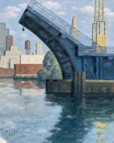 Robert Goldstrom, 'Blue Bridge', 2021