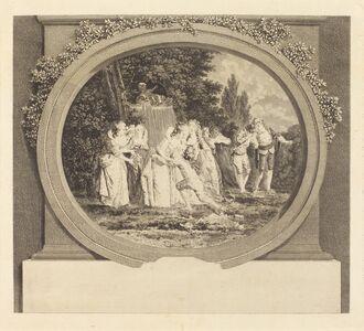 Nicolas Delaunay after Jean-Honoré Fragonard, 'Les Voeux acceptees', probably c. 1777/1783