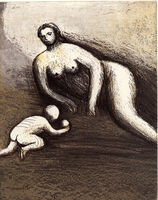 Henry Moore, 'Mother and Child VI', 1983